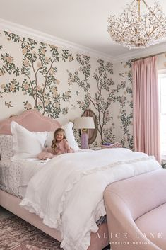 Do it yourself home projects and tutorials 2020 #home #decor #design #diy #tutorial #howto #project #farmhouse #shiplap Big Girl Bedrooms, Little Girl Rooms, Pink Bedroom For Girls, Room Girls, Small Bedrooms, Master Bedrooms, Rose Bedroom, Room Decor Bedroom, Bedroom Ideas