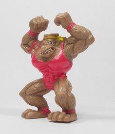 Monster Wrestlers In My Pocket - W13 Simian Smasher - Meg - Retro Toys Figures