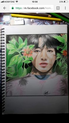 Jungkook❤ IF ANYONE KNOWS THE ARTIST PLEASE GIVE CREDIT