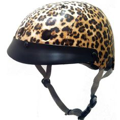 Sawako Furuno Leopard Helmet (sold by velovixen.com)  Are you brave enough to wear this one...?!  The leopard helmet is one of the most beautiful and luxurious cycling accessories around, but also has that extra 'bite' that others don't.  It has proven so popular that it sold out very fast early in 2012.  However, it is now back with a vengeance! £84