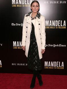 #OliviaPalermo con falda #BurberryProrsum