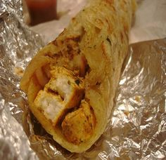#Paratha Roll: Most Delicious Pakistani food to eat. In this you feel the taste of both chicken and Paratha. It's very easy to make at home #Pakistani Cuisine
