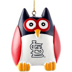 "St. Louis Cardinals 2.5"" Owl Ornament - $7.99"