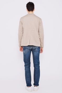 Acne  Dandy Jacket Beige
