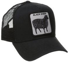 Animal Farm Trucker Snapback Hat Cap All Black