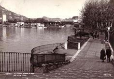 A view of Como from Villa Olmo, Como, 1950-1970
