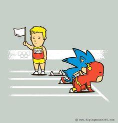Flash vs Sonic