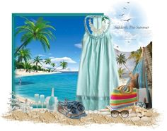 """""""Down by the Sea"""" by sil-engler ❤ liked on Polyvore"""