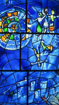 Marc Chagall | America Windows | Art Institute of Chicago