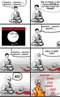 Lawl.. you will love this! How to make monks rage