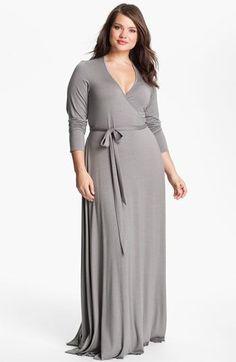 Vestidos longos para gordinhas   plus size fashion - http://vestidododia.com.br/vestidos-longos/vestidos-longos-para-gordinhas/