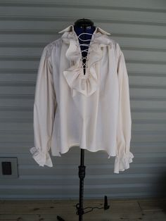 12491def1 Men's Women's renaissance faire chemise medieval tunic Steampunk poet pirate  shirt shakespeare romance Old fashioned costume--MADE TO ORDER
