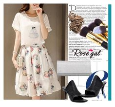 """""""rosegal 28"""" by aida-1999 ❤ liked on Polyvore featuring Balmain and Dolce&Gabbana"""