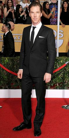 SAG Awards 2014: Arrivals : People.com beats the blue velvet jacket from last year