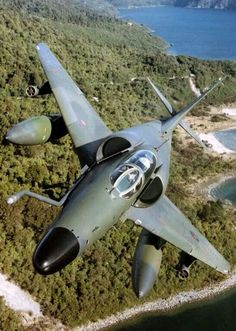 A RNZAF A4K Skyhawk. To my knowledge New Zealand was the only country on earth that entered the 21st century with the A4 as it's front line fighter.