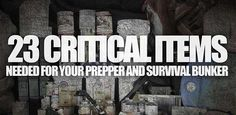 Critical Items Needed for Survival Shelters And Home - SHTF, Emergency Preparedness, Survival Prepping, Homesteading