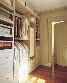 I would love to have space for a seasonal storage closet. This one from Martha Stewart is so well-appointed.