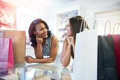 Buy Two young woman in a clothing boutique by FlamingoImages on PhotoDune. Two young woman in a clothing boutique leaning on the counter smiling and chatting as they wait to pay for their purc. Muscular Men, Vintage Boutique, Track And Field, Mens Fitness, Young Women, Boutique Clothing, Business Women, Design Trends, Take That