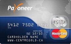 Peluang di internet: Kartu Debit MasterCard Payoneer – Cara Daftar / me...
