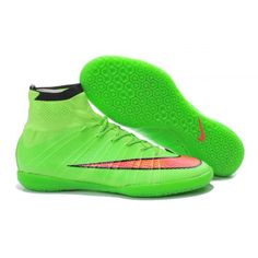 size 40 c27c7 546eb Nike Elastico Superfly IC 2017 Soccer Boots Green Orange Soccer Boots, Nike  Soccer Shoes,