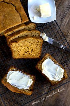 Gluten Free Pumpkin Breadhttp://glutenfreeonashoestring.com/gluten-free-pumpkin-bread/