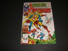 THE AVENGERS #214  MISSION: CAPTURE THE GHOST RIDER!! BUY IT NOW FOR $3.00+ COMBINE SHIPPING!!!