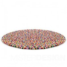 Pinocchio Rug designed by HAY. Named after a Danish candy – colourful, sugarcoated licorice balls – Pinocchio is a carpet that makes you smile. Pinocchio is
