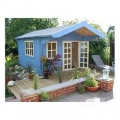 Shed House Kits - Snap 'n' Live Quick mini tiny house home living. Great for extra home or business, graduation gift for teens.