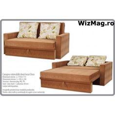 Canapea extensibila Dora cu 2 locuri WIZ 013 Bed, Furniture, Home Decor, Decoration Home, Stream Bed, Room Decor, Home Furnishings, Beds, Arredamento