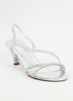 026bda7654 Wedding shoes, silver bridesmaid shoes, rhinestones shoes for weddings