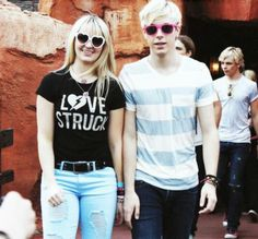 Rydel and Riker <3