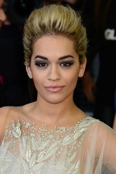 With plenty of volume Pull off a Pompadour #hairstyle #trendy #hair Rita Ora