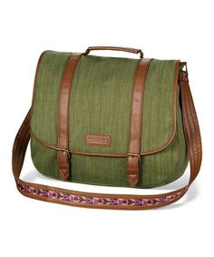 Another great find on #zulily! Olive Messenger Bag #zulilyfinds