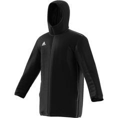 Ανδρικό Τζάκετ Adidas CORE 18 STADIUM JACKET - CE9057 Adidas Jacket, Rain Jacket, Core, 18th, Athletic, Jackets, Fashion, Moda, Athlete