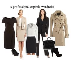 ♣ Organizing your wardrobe is not the act of a woman overly concerned with appearance - rather the opposite. Putting together your 'working wardrobe' gives you the freedom to forget about your clothes and concentrate on the job at hand.