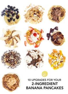 10 Little Upgrades for Your Two-Ingredient Banana Pancakes