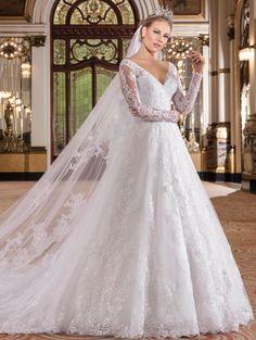 Vestido de noiva modelo: Ballet 3
