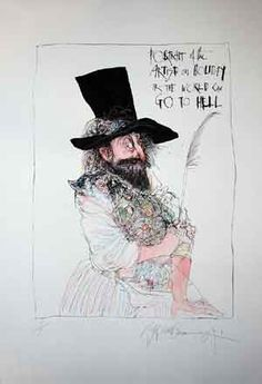 Type design information compiled and maintained by Luc Devroye. Ralph Steadman, David Hughes, Hunter S Thompson, World Of Books, Psychedelic Art, Hand Coloring, Illustrators, Illustration Art, Art Gallery