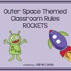 """Make your classroom, and behavior management, """"out of this world"""" with these cute classroom rules signs.  The 3 rules for my own classroom are incl..."""