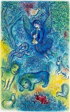 Marc Chagall La flûte enchantée (The Magic Flute), 1967