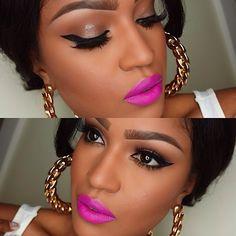 Love her makeup! (Makeupshayla)