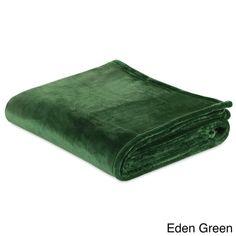 Berkshire Blanket VelvetLoft Silky Plush Throw - Warm Winter Palette