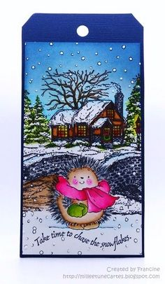 24 tags for Christmas - Day 10 by #Francine - Cards and Paper Crafts at Splitcoaststampers