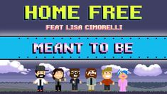 Bebe Rexha + Florida Georgia Line - Meant to Be (A cappella cover by Home Free + Lisa Cimorelli) | I ♥ the relaxed vibes of this song, and especially of Home Free's cover and video.
