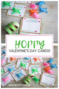 Creating the Perfect Frog Valentine's Day Card: Free Printable - Simply September hoppy Valentine's Day cards, Valentine's Day cards, Valentines for kids, frog valentine, frog V Valentine's Day Crafts For Kids, Fun Arts And Crafts, Projects For Kids, Fun Crafts, Amazing Crafts, Kinder Valentines, Valentine Day Cards, Valentines Diy, Happy Valentines Day