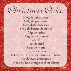Cannelle & chocolat chaud: Mon Christmas Cake