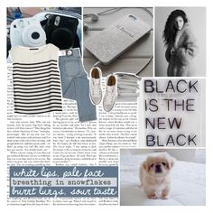 """""""white lips, pale face breathing in the snowflakes burnt lungs, sour taste"""" by zubyzaruba ❤ liked on Polyvore featuring Cheap Monday, Bruuns Bazaar, Converse and zubysbloglife"""