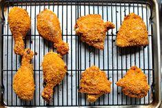 Oven-Fried Buttermilk Chicken l www.SimplyScratch.com baked