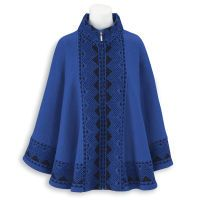 Boiled Wool Cape - Women's Clothing – Casual, Comfortable & Colorful Styles – Plus Sizes Colorful Fashion, Boho Fashion, Plus Size Online Shopping, Plus Size Outerwear, Wool Cape, Full Figured Women, Plus Size Outfits, Style Inspiration, Clothes For Women