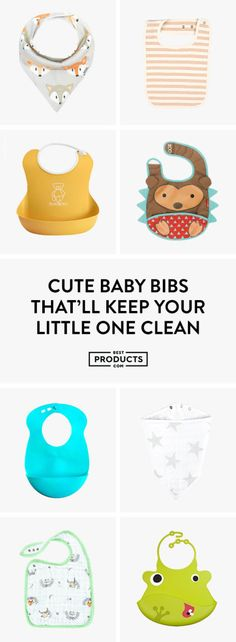 Feeding your baby doesn't have to be a struggle. With fashionable and functional baby bibs, you can nourish your little ones without the mess while showing off their personality. From disposable burp cloths to bibs with monkeys on the front, we narrowed down the top 15 baby bibs that help you find convenient ways to avoid clean-up time after.